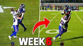 RECREATING THE TOP 10 PLAYS FROM NFL WEEK 6!! Madden 22 Challenge