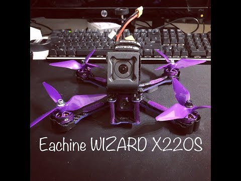 eachine-wizard-x220s-ita-unboxing-setup-switch-osd-betaflight-miglior-drone-racing-fpv-rtf
