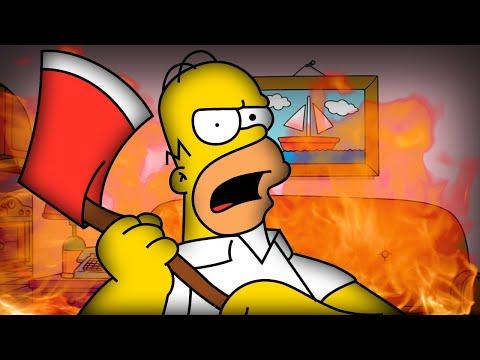 Homer toho má už DOST!