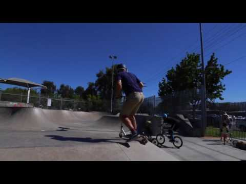 Fun at Kennedy Skatepark