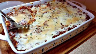 Lasagna Recipe | Meat Sauce Recipe | Amazing Lasagna Recipe | No Boil Noodles Lasagna Recipe
