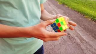 Как собрать  кубик-рубик быстро