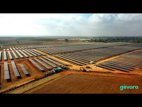 Planta Fotovoltaica Carmona. CSF Alcores (Sevilla)