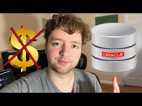 Free Oracle Autonomous Database (and Web Development with APEX)
