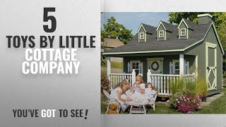 Top 10 Little Cottage Company Toys [2018]: Little Cottage Company Pennfield DIY Playhouse Kit, 11 X