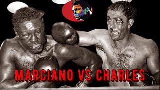 Rocky Marciano vs Ezzard Charles #Legendary Night# HD