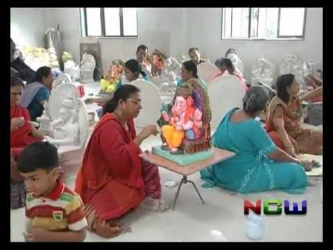 Making of Eco Friendly Ganesh Murti