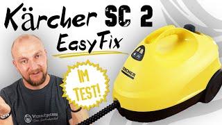Kärcher Dampfreiniger SC 2 Easyfix Test ► Top Markengerät ??? ✅ Wir haben getestet! | Wunschgetreu