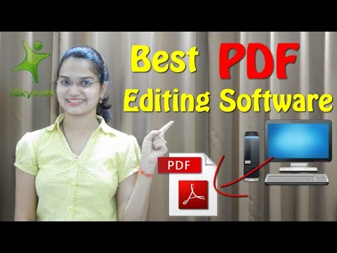 How to Edit PDF Offline [Hindi] | Best PDF Editing Software | Review iSkysoft  PDF Editor