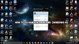 How To Fix Hamachi Problems | Windows 10