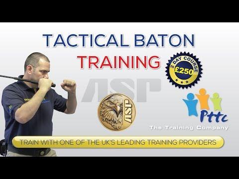 ASP Tactical Baton Training Course 2014 - PTTC - London - YouTube