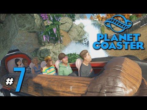 ทัวร์ล่องแก่ง แยงเหวลึก คึกคะนอง! - Planet Coaster #7(มีต่อมาก)