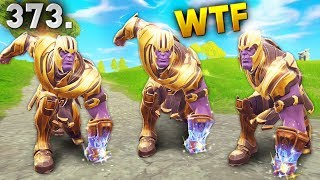 WHY THANOS IS OP..!! Fortnite Daily Best Moments Ep.373 (Fortnite Battle Royale Funny Moments)