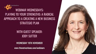 Playing to your strengths: a radical approach to new business with Jody Sutter. (Read more)