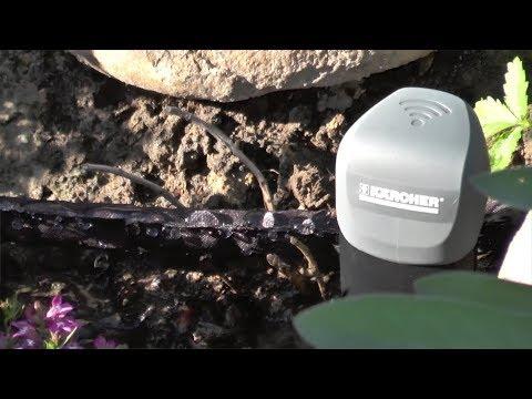 Установка и тестирование автоматического полива «Керхер»