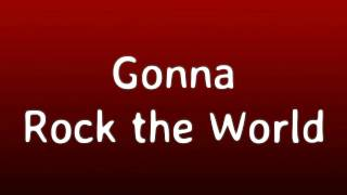 Bratz Rock Angelz  - Rock the World (Lyrics for Karaoke screen)