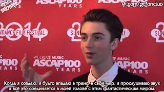 Грейсон Ченс, Greyson Chance - Interview - Sundance ASCAP Music Café [Rus Sub]