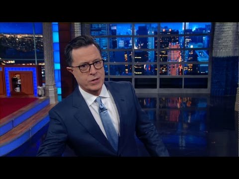 Happy St. Patrick's Day From Stephen Colbert