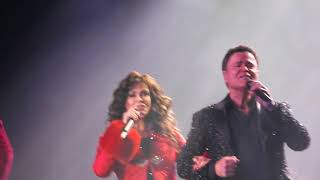 "Donny & Marie ""We Need a Little Christmas"" ending at Hardrock in Ohio"