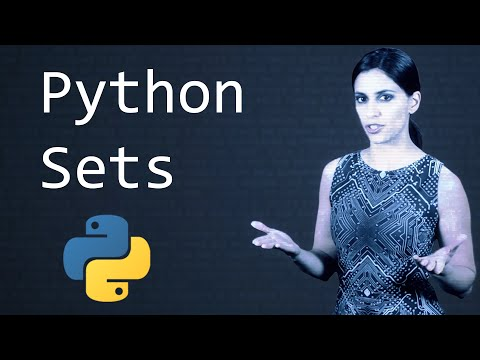 Sets in Python  ||  Python Tutorial  ||  Learn Python Programming
