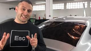 infeenio Scheibentönen lernen Anpassen/Schrumpfen der Heckscheibe Audi S 5