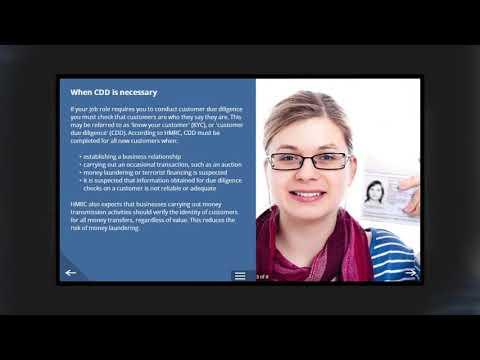 Anti-money laundering e-learning course - YouTube