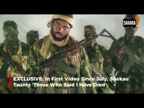 Download EXCLUSIVE: In First Video Since July, Shekau Taunts 'Those Who Said I Have Died' HD Mp4 3GP Video and MP3
