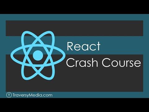 React JS Crash Course (2019) - YouTube