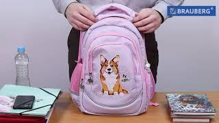 Рюкзак BRAUBERG SPECIAL, «Little kittens», 44×30×13 см, 228836