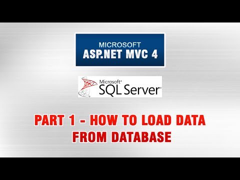 ASP.NET MVC 4 Database Tutorial In Urdu - How To Load Data From Database Mp3