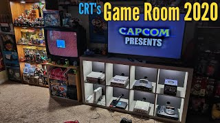 Nintendo Game Room Tour UPDATE 2020 - CRTs Game Room