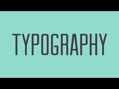 a beginners guide to graphic design in typography
