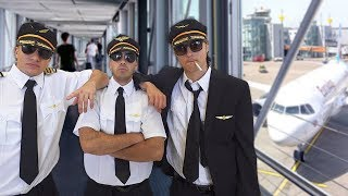 Fake Pilot At The Airport Prank!
