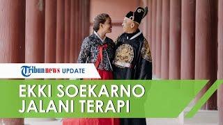 Ekki Soekarno Jalani Terapi Uap Guna Keluarkan Cairan di Paru-paru