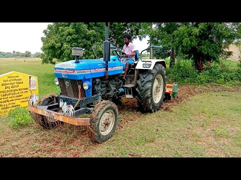 Powertrac 445 DS plus Tractor |field working |tractor videos |All IN All
