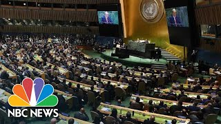 Watch President Donald Trump's Full Address To The 2019 United Nations General Assembly | NBC News