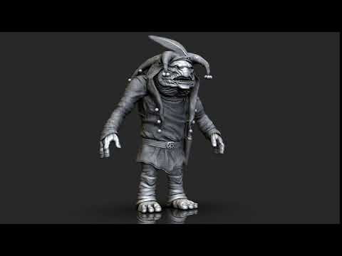Stephen King's Cats Eye - Troll 3D Model