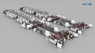 GROB manufacturing line