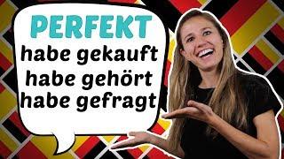 Understand the German Perfect! (Only in German) - Das deutsche Perfekt