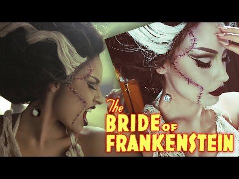 Bride Of Frankenstein Rick Baker Inspired Halloween Tutorial