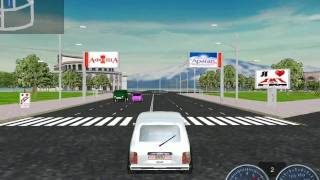 preview picture of video 'drive your car on the streets of Yerevan With Your PC'