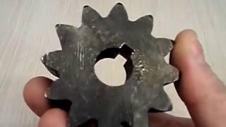 Шестерня для бетономешалки А-ВИКТ BWA 12 зуб - видео 1