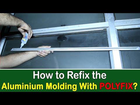 CA Glue for Aluminium Moulding Pasting