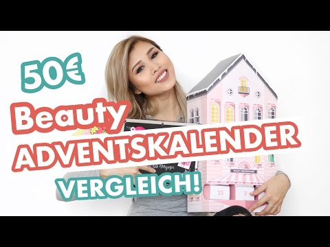 BEAUTY ADVENTSKALENDER 2016 VERGLEICH 50€ + XXL VERLOSUNG l Kisu