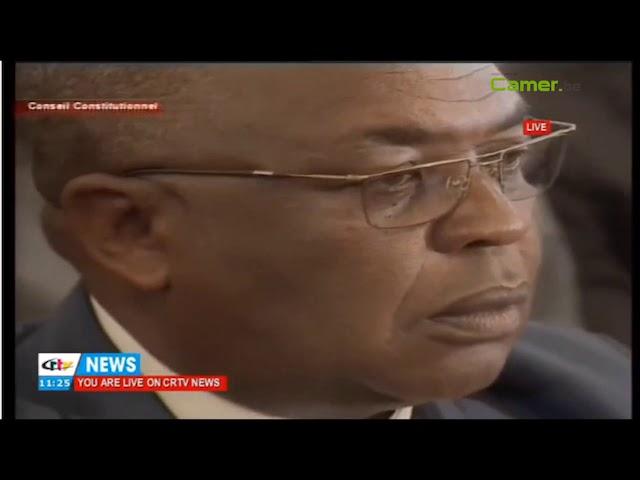 L'affichage du candidat Biya querellé au conseil constitutionnel