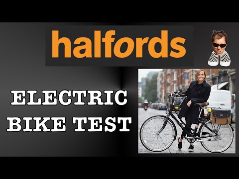 Halfords Electric bike Test Pendleton Somerby Bicycle review Ebike
