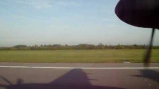 preview picture of video 'TAKE OFF Dash 8Q-400 from London Stansted to Germany'