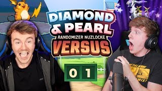 WORST LUCK EVER!!   Pokemon Diamond and Pearl Versus EP 01