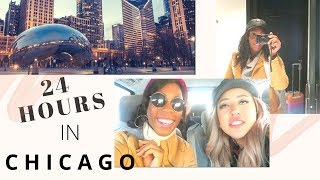 24 HOURS IN CHICAGO | Britt's Space | Travel Vlog