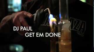 "DJ Paul KOMTV #108 ""Get Em Done"" Official Video"